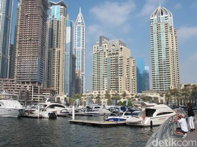 Bukan Sulap Bukan Sihir, Gurun Pasir Jadi Pelabuhan Kapal di Dubai