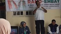 Rano Karno Kaget Belum Ada Puskesmas di Cireundeu Tangsel