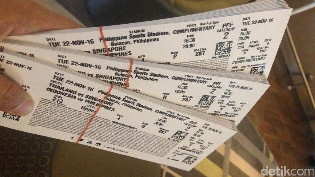 Penjualan Tiket Piala AFF di GBK Bakal Dikawal Polisi