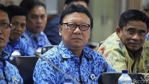 Mendagri Lapor ke Jokowi soal Pilkada Kotak Kosong