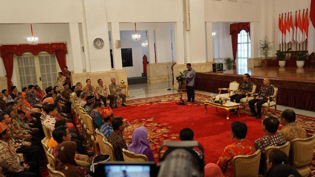 Tingkatkan Produksi Lokal dan Setop Impor, Jokowi: Hanya Masalah Niat