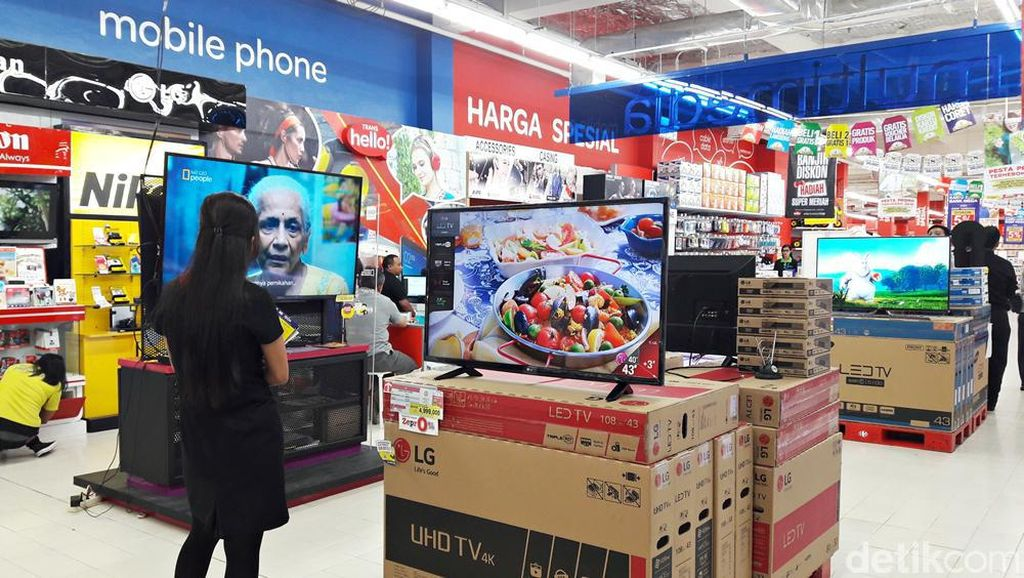 Transmart Carrefour Gelar Promo Elektronik Mulai LED TV Sampai Kulkas
