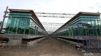 Progres Pembangunan Stasiun Kereta Bandara Soetta Sudah 85%