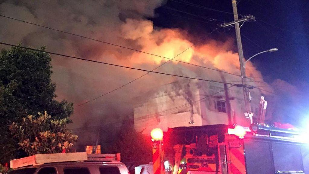 Korban Tewas Kebakaran di California Jadi 36 Orang, 11 Orang Teridentifikasi