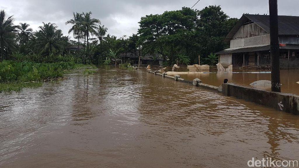 2 Kecamatan di Serang Terendam Banjir