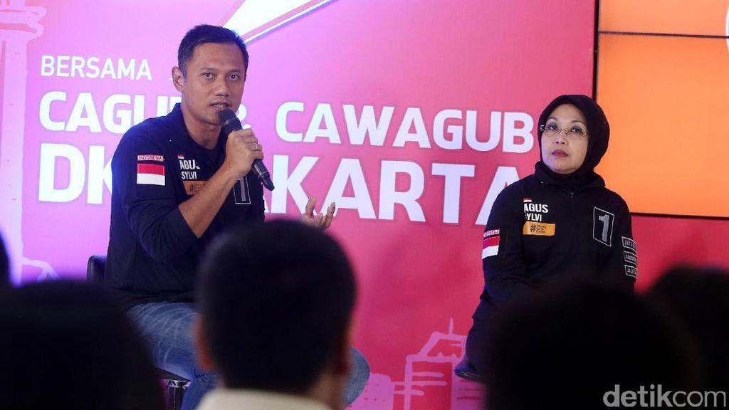 Ide Agus Yudhoyono dan Sylviana Kurangi Kemacetan di Jakarta