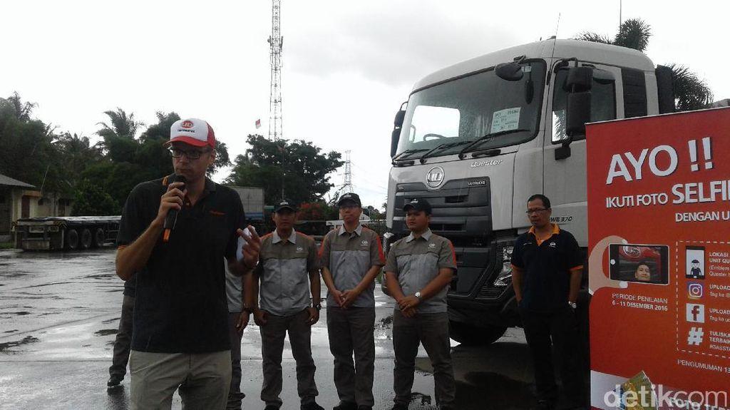 UD Trucks Gelar Kegiatan Peduli Sopir Truk