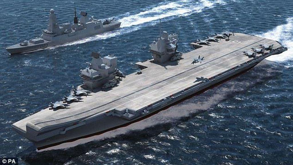 HMS Queen Elizabeth: Kapal Induk Tercanggih Inggris