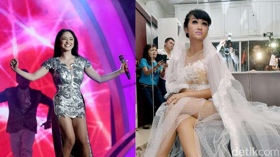 Throwback Moment! Dewi Persik dan Julia Perez, Seksi Mana?