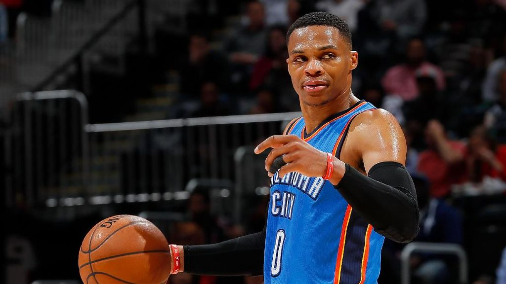 Westbrook Bikin Rekor Triple-double, Thunder Pastikan Tiket Playoff