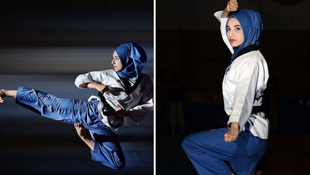 5 Atlet Cantik Berhijab yang Jadi Jawara Taekwondo Dunia