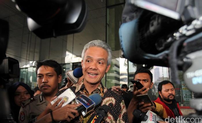 Gubernur Jawa Tengah Ganjar Pranowo (Foto: Lamhot Aritonang)