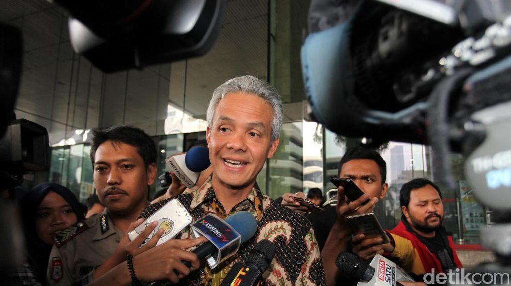 Ke Jakarta, Ganjar Pranowo Siap jadi Saksi Kasus e-KTP