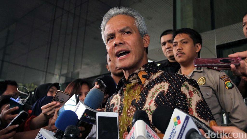 Ganjar Pranowo Bicara soal Berkas Diduga BAP Miryam yang Beredar