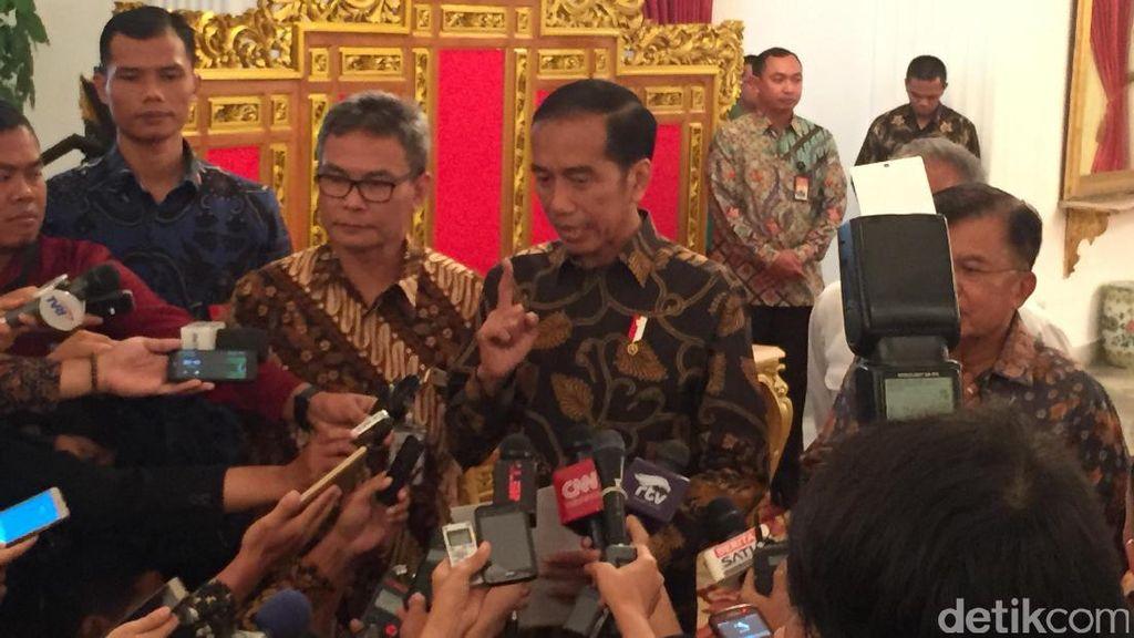 Soal Isu Pekerja China Masuk RI, Jokowi: Kayak Ada Angin Puting Beliung Saja