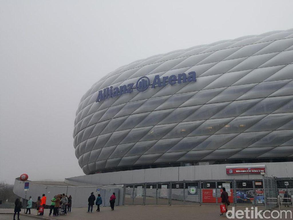 Stadion Allianz Arena yang legendaris (Fitraya/detikTravel)