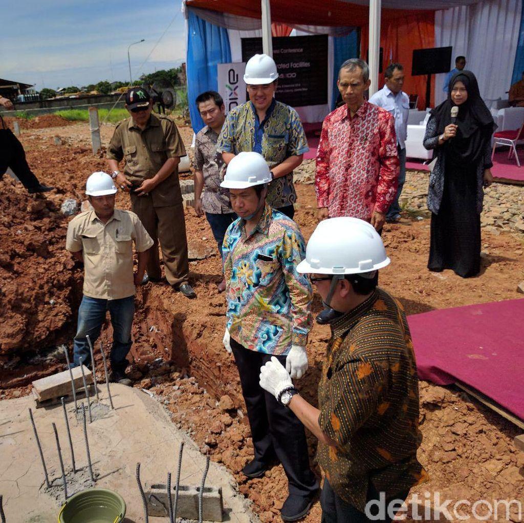 Pabrik Ponsel Axioo Rampung Dibangun di Cakung Akhir 2017