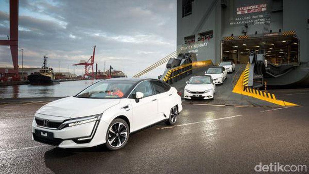 6 Mobil Hidrogen Honda Tiba di Jalanan Benua Biru