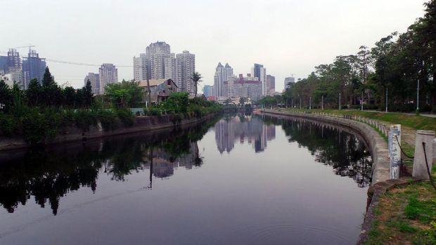 Inilah yang namanya Sungai Cinta di Taiwan (Wahyu/detikTravel)