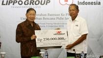 Lewat PMI, Lippo Group Bantu Korban Gempa