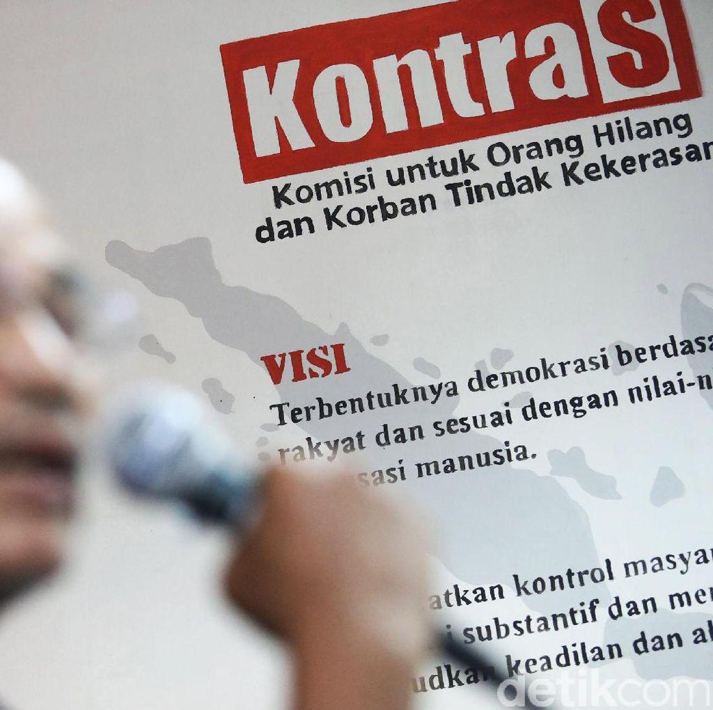 KontraS Tolak Jalur Non-yudisial untuk Selesaikan Kasus HAM