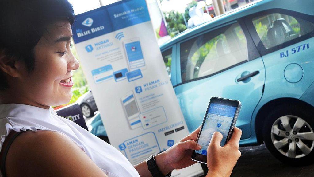 Pesan Taksi Blue Bird Kini Bisa Pakai Aplikasi GO-JEK