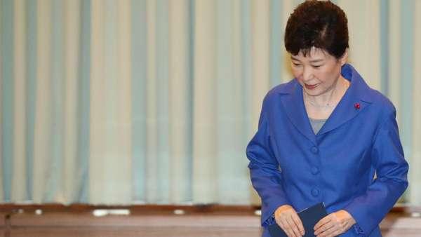 Presiden Korsel Park Geun-Hye Resmi Dimakzulkan