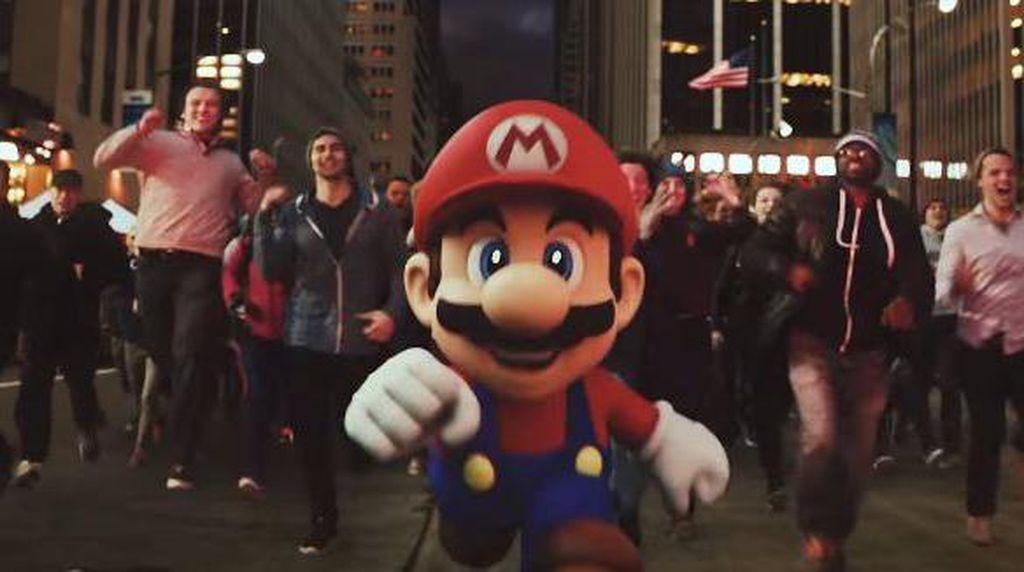Saham Nintendo Anjlok 11% Pasca Rilis Super Mario Run