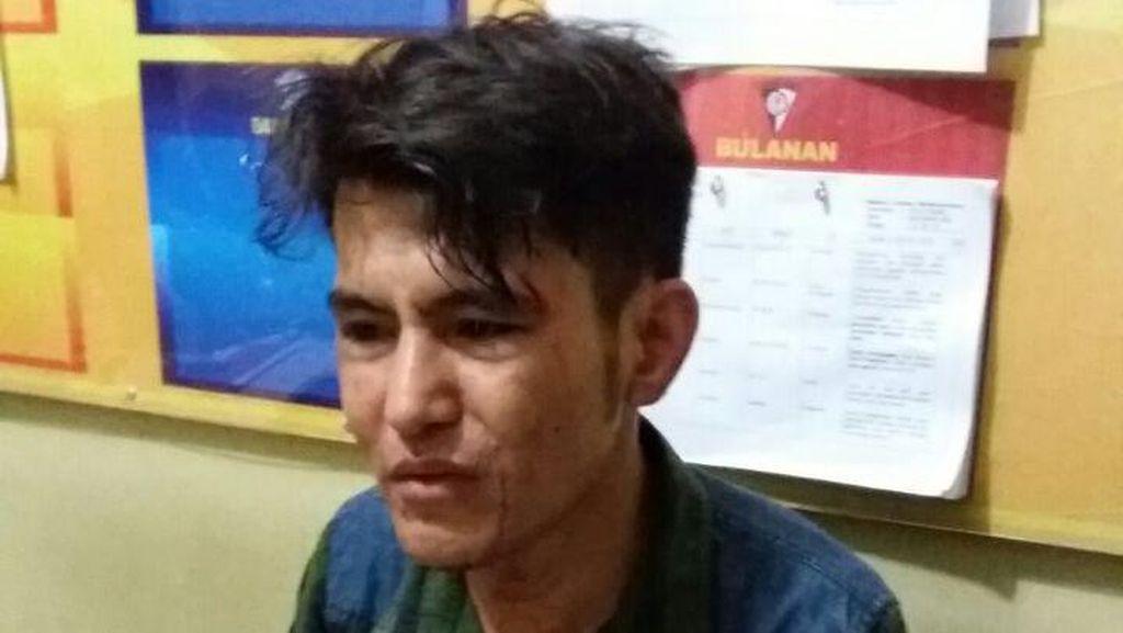 Diduga Pelaku Tabrak Lari, Imigran Afganistan di Makassar Digebuki Warga