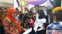 Mensos Serahkan Alat Bengkel Hingga Mesin Jahit ke Panti Sosial di Pekanbaru