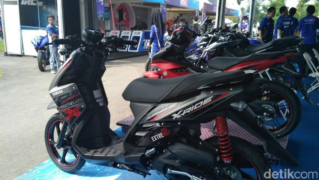 Penjualan Motor Tanpa Gigi Yamaha Naik di Daerah