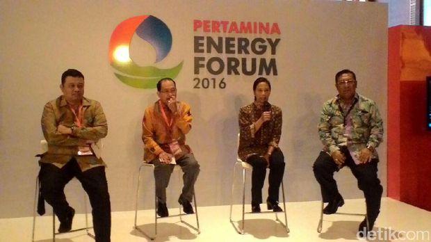 Buka Energy Forum 2016, Rini Minta Pertamina Bersinergi dengan PLN
