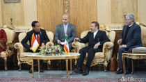 RI-Iran akan Teken Kerja Sama di 3 Bidang Usai Pertemuan Jokowi-Rouhani