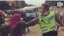 Video Perempuan Ngamuk Ditilang Kejutkan Netizen