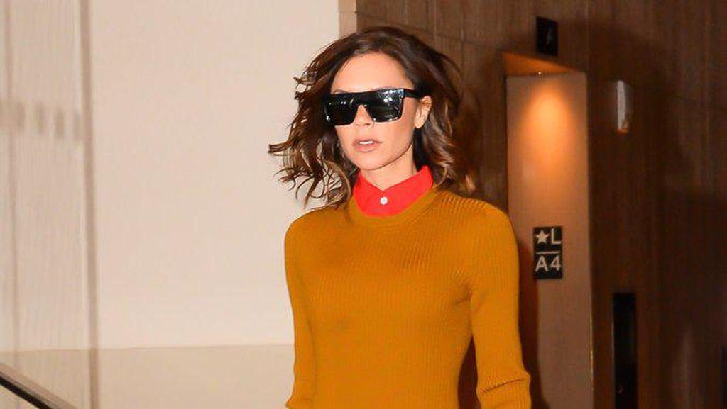 Terungkap, Alasan Victoria Beckham Selalu Pakai Sunglasses
