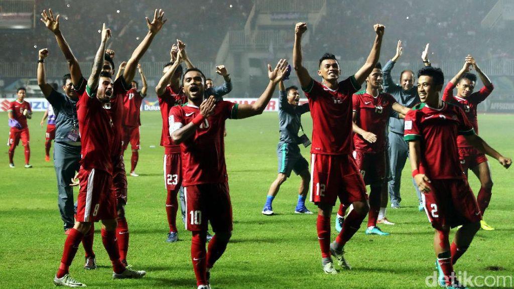 Sempat Tertinggal, Indonesia Kalahkan Thailand 2-1