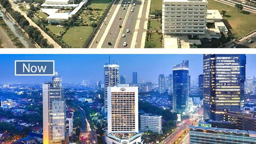 Potret Dulu Sekarang Jakarta & Kota-kota Dunia