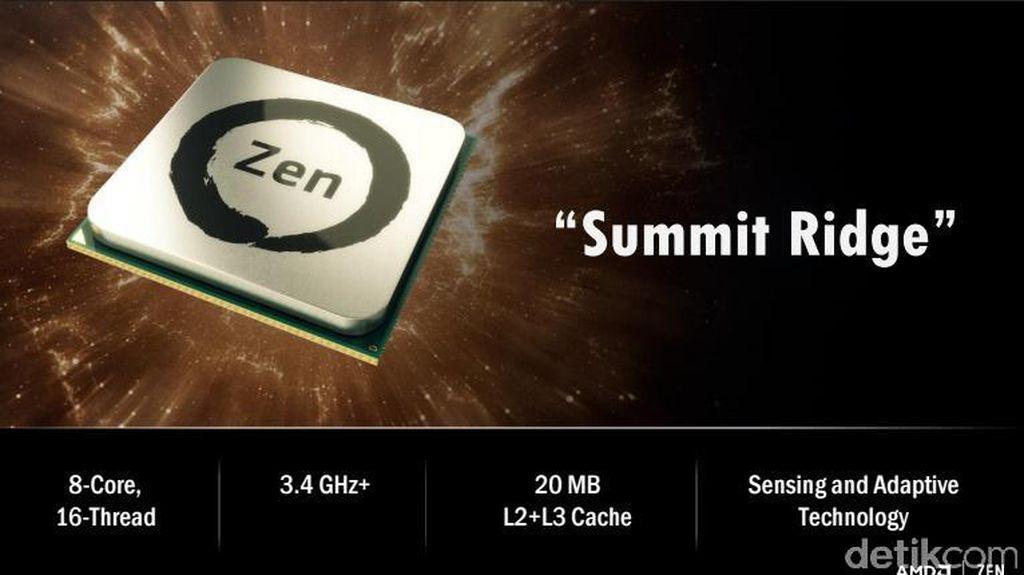 Terungkap! Banderol Prosesor AMD Ryzen