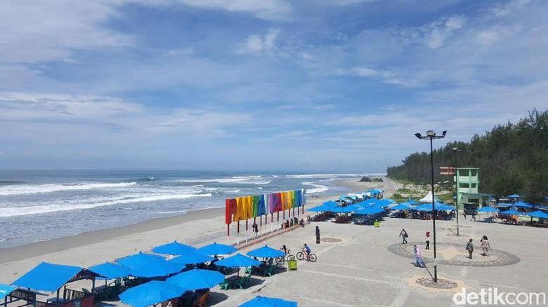 Foto: Inilah Pantai Panjang di Bengkulu (Afif/detikTravel)