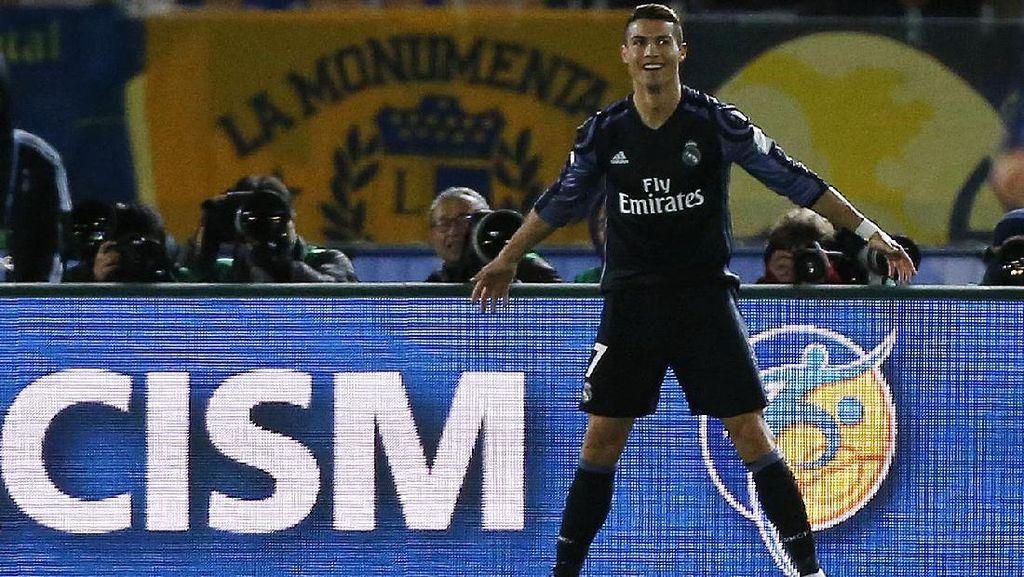 Terkait Teknologi Video Replay, Ronaldo: TV-nya Rusak, Ya?