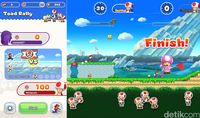 Begini Serunya Super Mario Run di iPhone