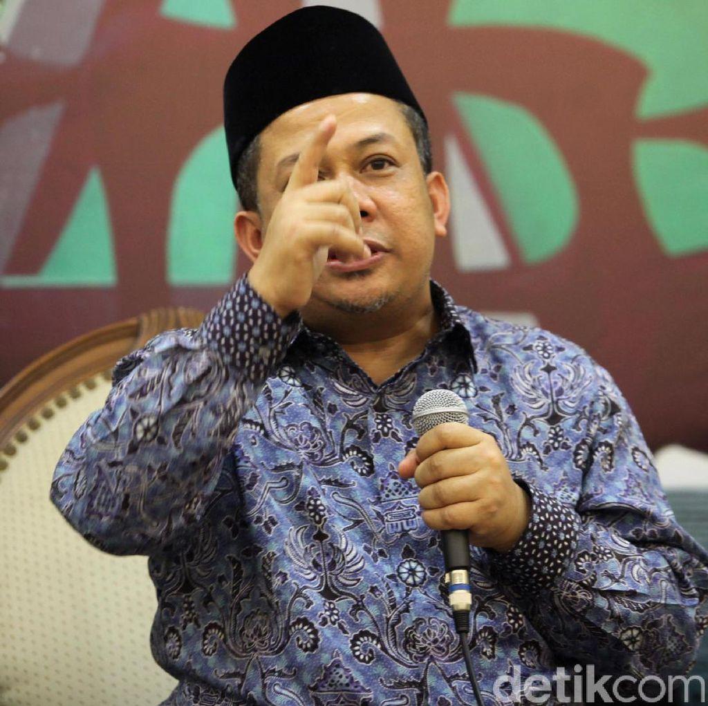Fahri Hamzah: Semua yang Dilakukan Gubernur DKI Kampanye