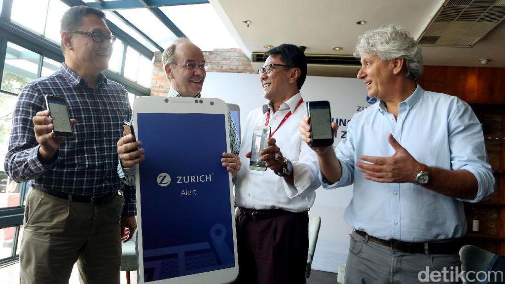 ZII Luncurkan  Aplikasi Mobile Peringatan Bencana