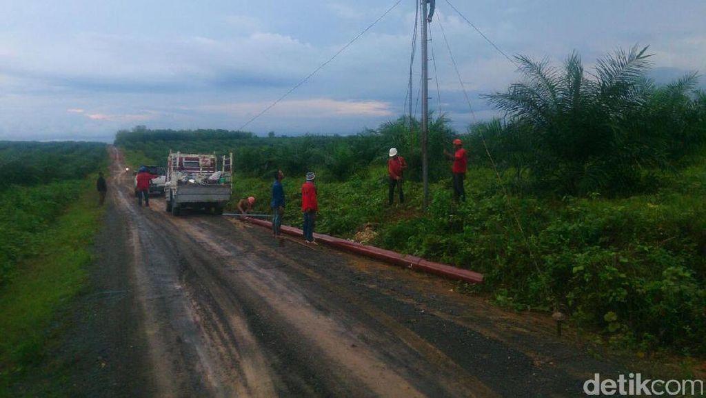 PLN Bangun Jaringan Listrik ke Desa di Pedalaman Sulawesi Utara