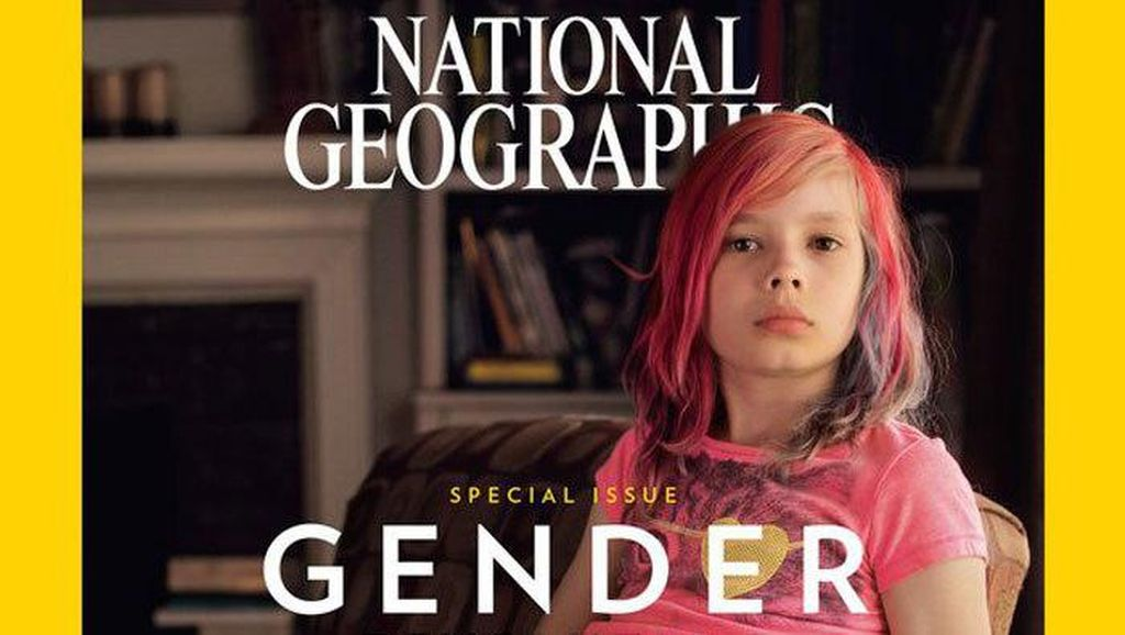 Alasan National Geographic Pilih Bocah Transgender Jadi Model Sampul Majalah