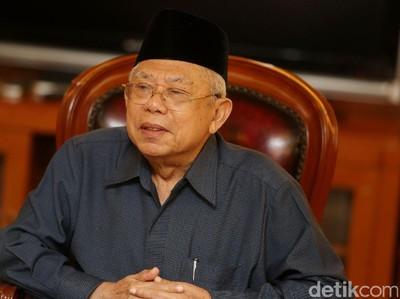KH Maruf Amin: 1 Syawal Jadikan Momentum Menyatukan Bangsa