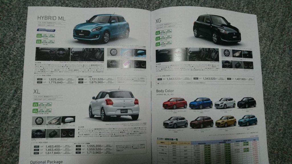 Di Jepang, Swift Terbaru Dijual Mulai Rp 153 Jutaan