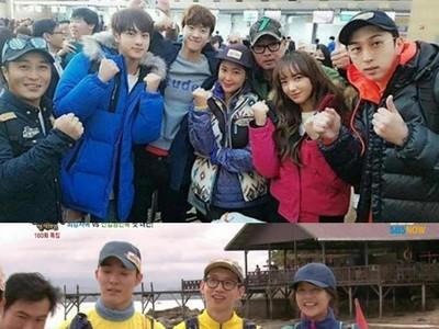 Belasan Artis Korea Syuting Reality Show di Destinasi Unggulan Tanah Air