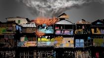 Korsleting Listrik, Rumah Semipermanen Terbakar di Ancol