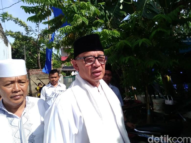 Bertemu Pendukung, Cagub Wahidin Halim: Saya Hormat ke Alim Ulama